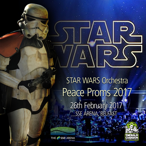 Star Wars Orchestra - PEACE PROMS 2017 (BELFAST)