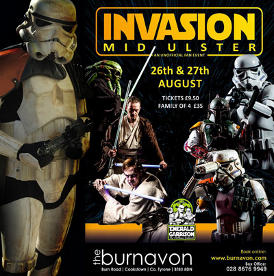 Invasion Mid Ulster Tickets Poster